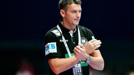 Spielt mit Deutschlands Handballern um Platz für bei der EM: Bundestrainer Christian Prokop.