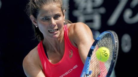 Julia Görges zieht souverän in die dritte Runde der Australian Open ein.