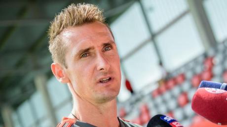 Trainert noch die U17 beim FC Bayern München Miroslav Klose.
