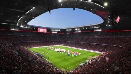 Drei Gruppenspiele der Fußball-EM werden in diesem Sonner in der Allianz Arena in München stattfinden.
