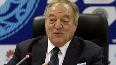 Wurde vorläufig suspendiert: Gewichtheber-Präsident Tamas Ajan.