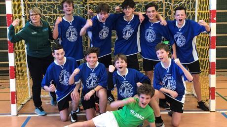 Die Schulmannschaft des Maristenkollegs Mindelheim qualifiziert sich für das südbayerische Finale.