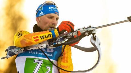 Kämpft in Pokljuka auch um sein WM-Ticket: Biathlon Erik Lesser.