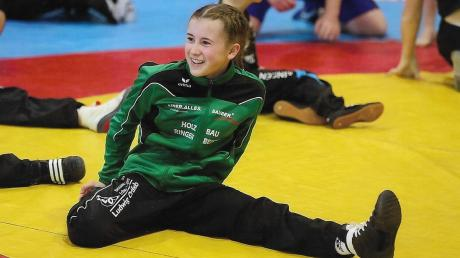 Katharina Krupna freut sich über ihre Meistertitel, die sie in den vergangenen Wochen errungen hat. Am Wochenende steht für die junge Meringerin aber bereits der nächste Sichtungsturnier in Nordrhein-Westfalen auf dem Programm.