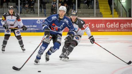 In der Vorrunde musste sich der HC Landsberg (Mitte Markus Kerber) Passau zwei Mal knapp geschlagen geben. Am Freitag kommt es zum erneuten Aufeinandertreffen.