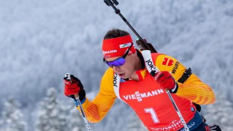 Heute Biathlon 2019/2020 - Ergebnisse und Gewinner: Gesamtstand am 23.01.2020. Bester Deutscher beim Einzel in Pokljuka: Philipp Nawrath.