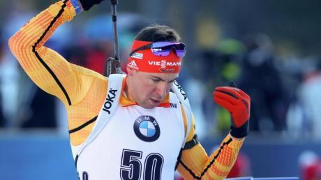 Verpasste in Pokljuka nur knapp das Podium: Philipp Nawrath.