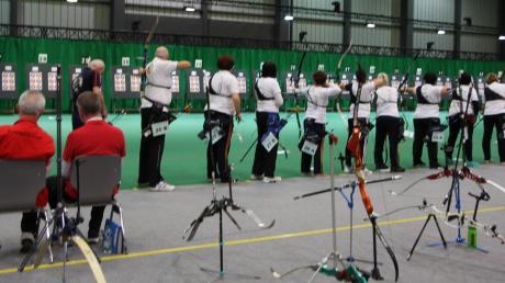 Auf der Messe Jagen und Fischen präsentierte sich der Sportschützengau Augsburg in vielfältigster Art und Weise. Unter anderem standen die bayerischen Meisterschaften im Bogenschießen auf dem Programm.