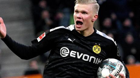 Steht vor seinem Heimdebüt bei Borussia Dortmund: Shootingstar Erling Haaland.