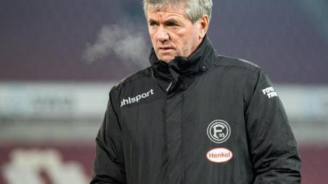 Ist bei Fortuna Düsseldorf in die Kritik geraten:Trainer Friedhelm Funkel.