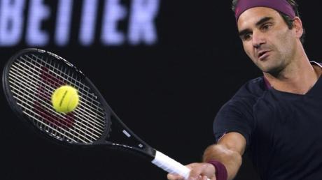 Roger Federer hat sich ins Achtelfinale der Australian Open gekämpft.