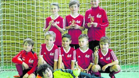 Die Fußballer des gastgebenden VfR Jettingen gewannen das Turnier der F-Schüler.