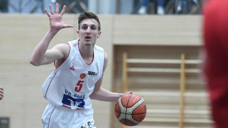 Jonas Sauer ist schon mit 20 Jahren ein Führungsspieler bei der BG Leitershofen/Stadtbergen