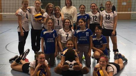 Spielerisch und personell stark aufgestellt: Die drei U-14-Mannschaften des TSV Neuburg. Das erste Team hat sich für die oberbayerische Meisterschaft qualifiziert.