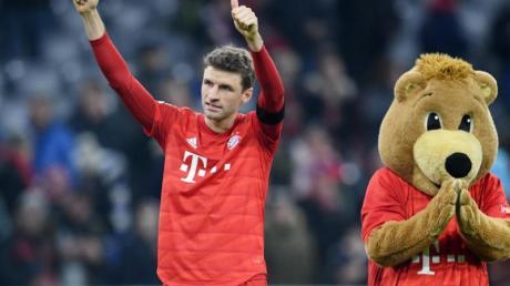 Thomas Müller könnte für die deutsche Olympia-Auswahl spielen.