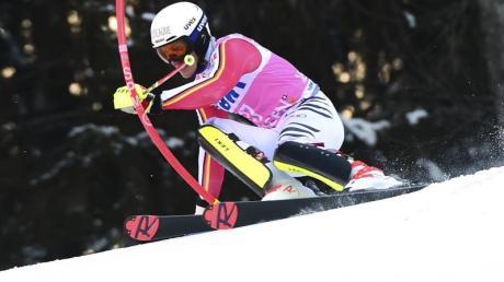 Beim Slalom in Kitzbühel liegen die deutschen Hoffnungen auf Linus Straßer.
