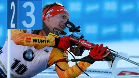 Benedikt Doll. Biathlon-WM 2020 live in TV und Stream - die TV-Termine und die TV-Übertragung. Frei im Fernsehen oder kostenpflichtig?