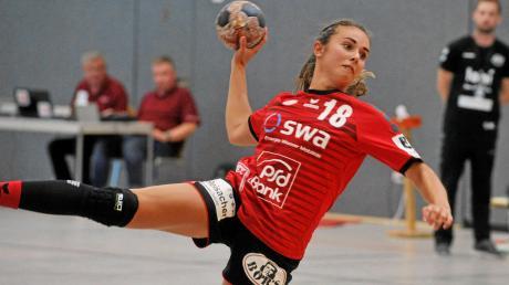 Mit neun Toren gehörte Sarah Irmler wieder einmal zu den besten Werferinnen für den TSV Haunstetten und half entscheidend mit zum 30:17-Erfolg gegen den Abstiegskandidaten ASV Dachau.