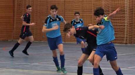 Beim Spiel des Kissinger SC gegen die SG Paar- und Eisbachtal kam in der Halle Derbystimmung auf. Keines der Teams kam aber auf den ersten Platz bei der Kreismeisterschaft in Friedberg.