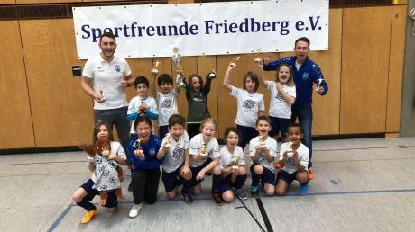Beim eigenen F-Jugend-Turnier setzte sich der Nachwuchs der Sportfreunde Friedberg durch.