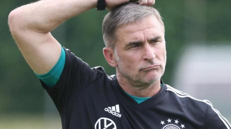 Trainer Stefan Kuntz hat sich mit der U21-Nationalmannschaft bereits für Tokio qualifiziert.
