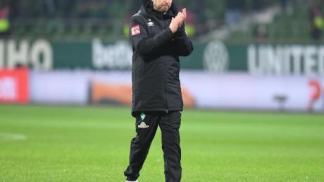 Werders Trainer Florian Kohfeldt musste mit seiner Mannschaft schon die sechste Heimpleite hinnehmen.