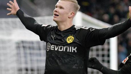 Der spektakulärste Transfer in Europa gelang Borussia Dortmund mit Top-Stürmer Erling Haaland.