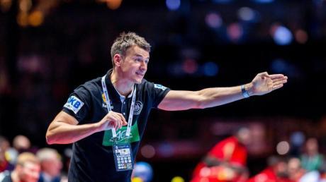 Soll Deutschlands Handballer zu Olympia führen: Bundestrainer Christian Prokop.