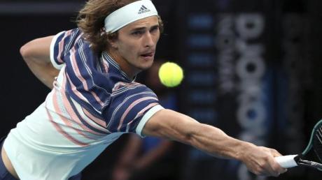 Steht in Melbourne in der Runde der letzten acht Spieler: Alexander Zverev.