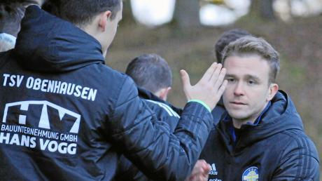 Abgeklatscht wurde eher selten beim TSV Obenhausen: Tim Hille (rechts) steht mit seiner Mannschaft auf einem Abstiegsplatz.