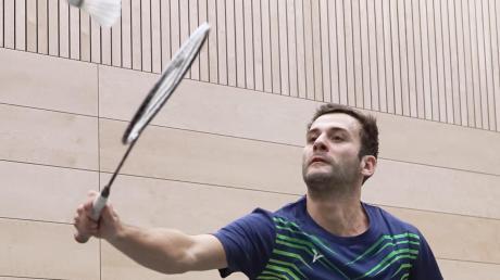 Post-Mannschaftsführer Robin Fiedler gewann sein Einzel in Dillingen