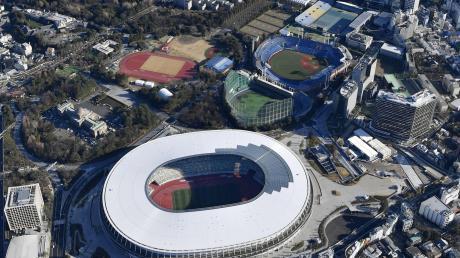 Das neue Nationalstadion in Tokio kostete rund 1,2 Milliarden Euro. Die Olympischen Spiele sind ein teurer Spaß-