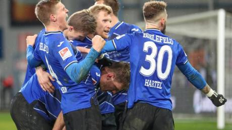 Arminia Bielefeld setzte sich mit 2:0 gegen den VfL Bochum durch.