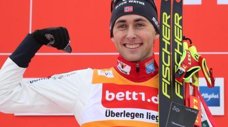 Favorit für den Weltcup in der nordischen Kombination in Seefeld ist der Norweger Jarl Magnus Riiber.