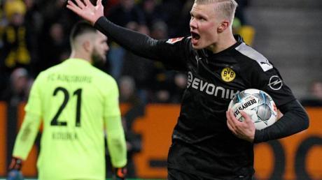 Stürmer Erling Haaland feierte beim BVB einen großartigen Einstand.