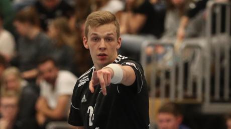 Timo Riesenberger und die Friedberger Handballer sind auch ersatzgeschwächt in Rimpar Favorit.