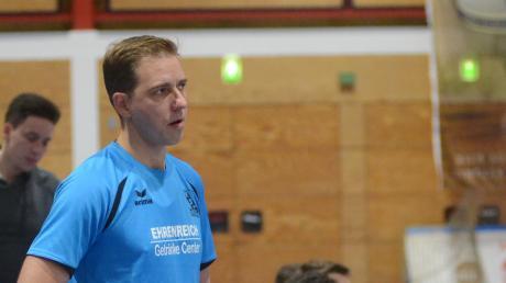Warnt davor, den Gegner Ichenhausen zu unterschätzen: Kissings Trainer Janos Füsi.