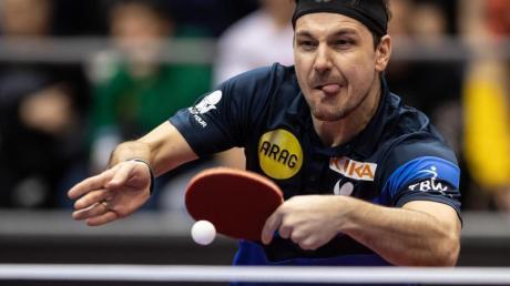 Hat zum fünften Mal nacheinander gegen die Nummer eins des Tischtennis verloren: Timo Boll in Aktion.