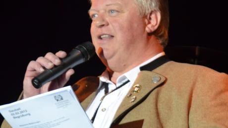 Seit 2016 führt Hubert Gerblinger den Schützengau Wertingen. Vor wenigen Wochen wurde er im Amt als Gauschützenmeister bestätigt.