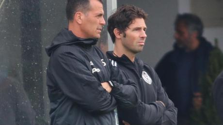 Ab kommenden Montag beginnt für sie wieder der laufende Trainingsbetrieb: Andreas Schröter (links) und Thomas Ranftl vom TSV Nördlingen.