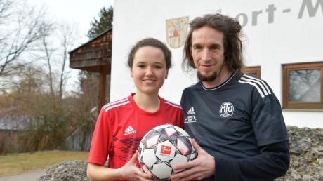 MTV-Trainer Nico Weis freut sich über den Neuzugang: Caro Bader hat auch schon in der 2. Bundesliga gespielt.