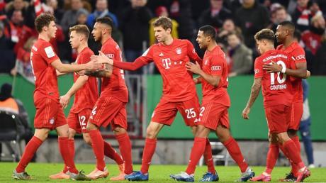 Der FC Bayern steht nach einem Sieg gegen die TSG Hoffenheim im Viertelfinale des DFB-Pokals.