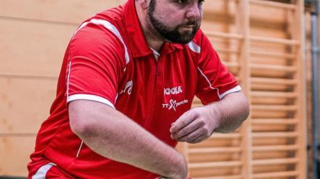 Florian Glück wechselte vor der Saison vom SV Memmingerberg zur TSG Thannhausen.