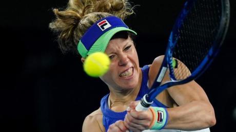 Ist mit dem deutschen Fed-Cup-Team in Brasilien gefordert: Laura Siegemund.
