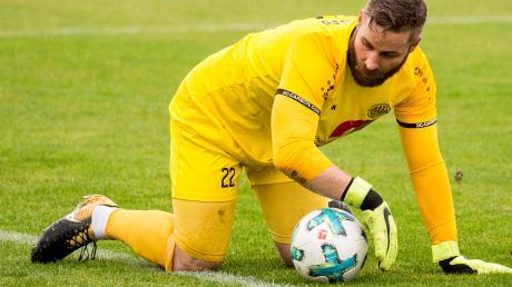 TSV-Keeper Patrick Rösch ist diesmal wieder mit von der Partie. Am Sonntagvormittag testen die Landsberger in Kempten.