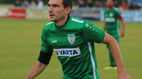 Mittelfeldmann Marco Haller wird in der Frühjahrsrunde nicht mehr für den TSV Nördlingen spielen.