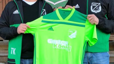Margertshausens Trainer Thomas Kempter (links) wird künftig von Zeljko Brnadic unterstützt.
