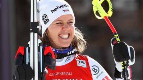 Viktoria Rebensburg hört mit dem Wintersport auf.
