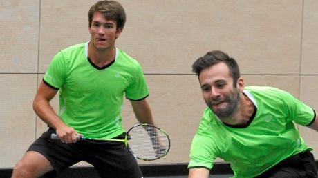 Michael Clemens (links) und Robin Fiedler bewiesen an diesem Wochenende ihre Nervenstärke.