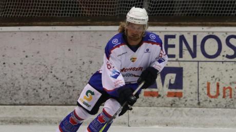 Lubomir Vaskovic erzielte den zwischenzeitlichen Ausgleich für den EV Bad Wörishofen beim Spiel gegen den SC Reichersbeuern.